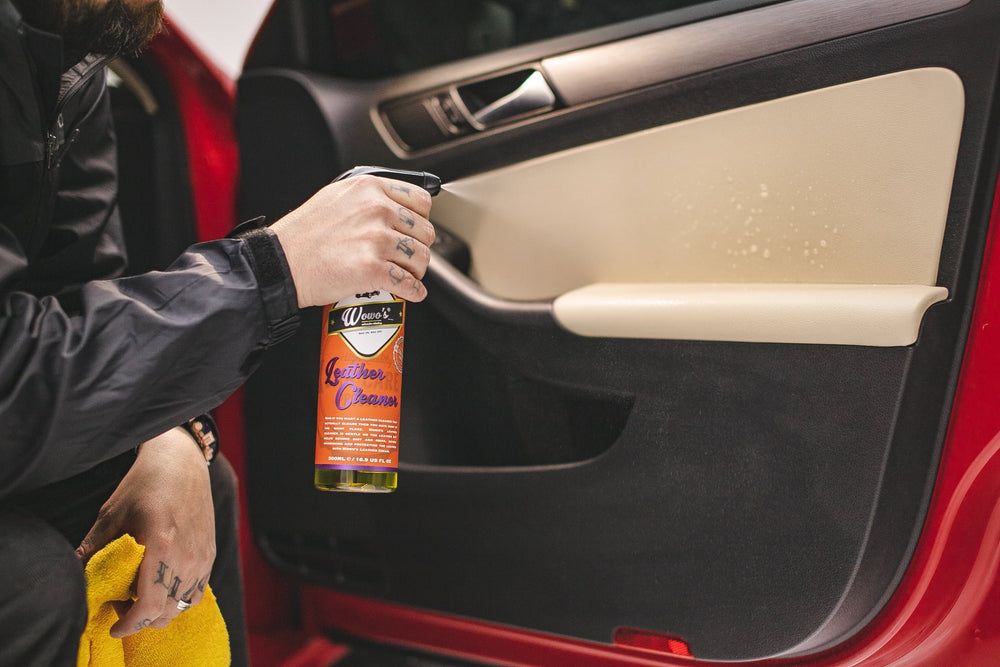Wowo's Leather Cleaner