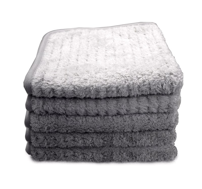 The Rag Company - Platinum Pluffle Hybrid Weave Microfiber Towel 40cm x 40cm - Prime Finish Car Care