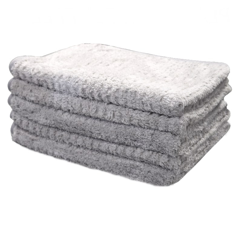 The Rag Company - Platinum Pluffle Hybrid Weave Microfiber Towel 50cm x 100cm - Prime Finish Car Care