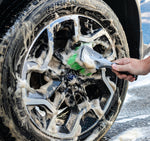 The Rag Company - Soft Grip Wheel And Body Brush - Prime Finish Car Care