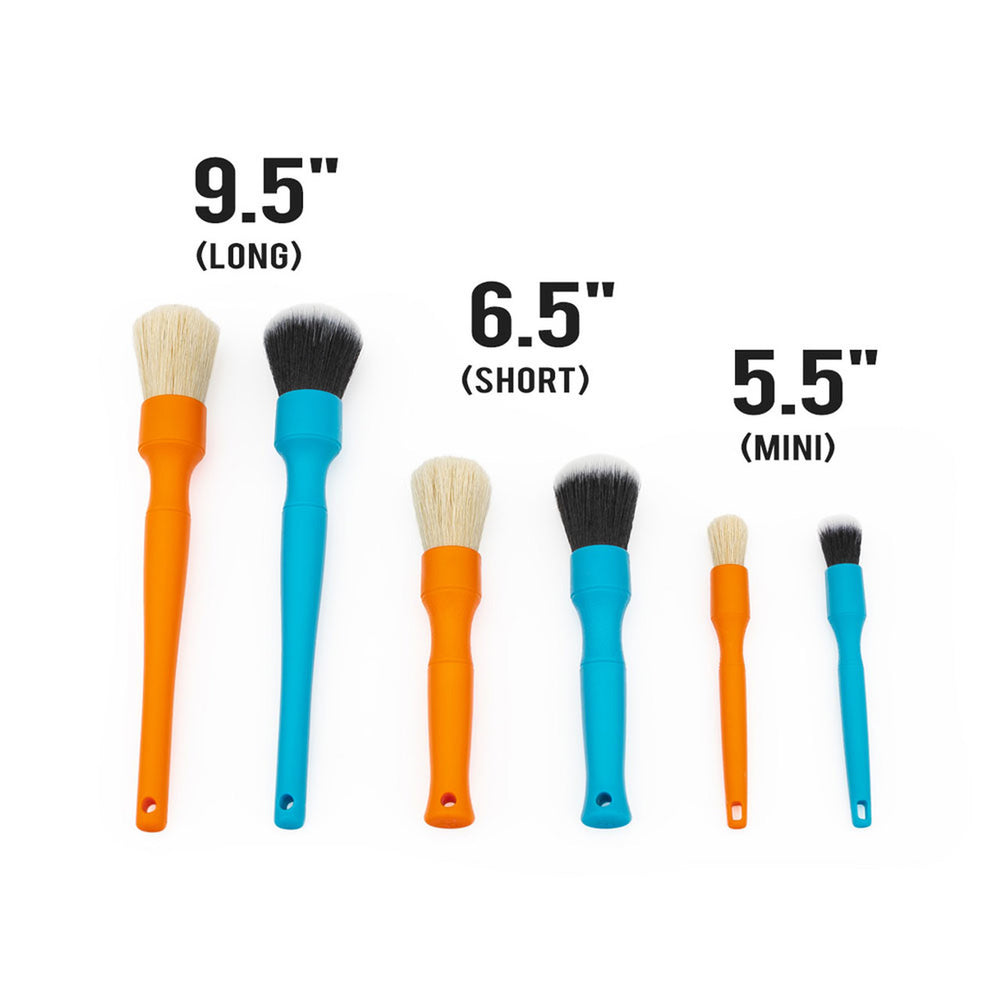 DETAIL FACTORY Detailing Brush Mini Blue & Orange Combo Set