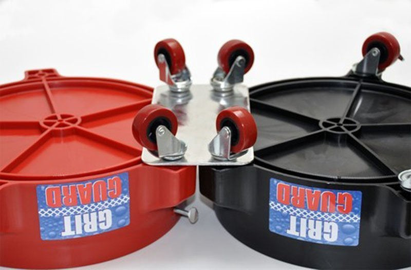 Grit Guard Dual Bucket Connector Plate - Prime Finish Car Care