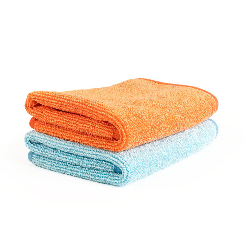 The Rag Company - Premium FTW Twist Loop GLASS Towel 40cm x 40cm - Prime Finish Car Care