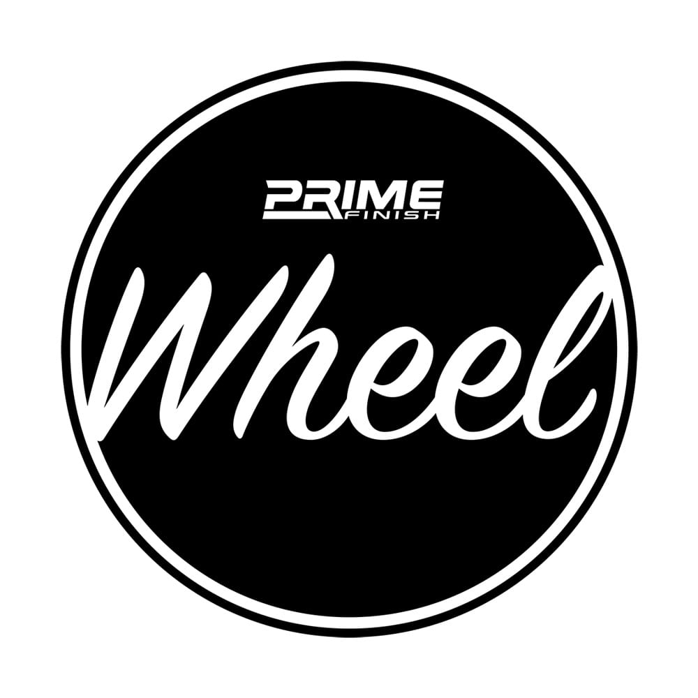 Wheel Bucket Water Proof Vinyl Sticker - Black