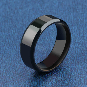 Black Titanium Ring size 6-13 more colors available