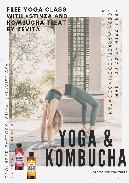 WELCOME to Yoga event with Stina Lönnkvist and KeVita