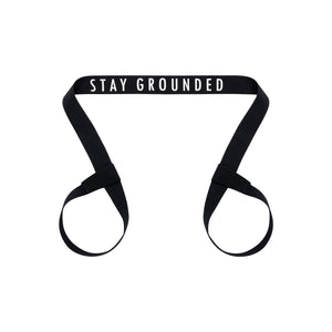 Yoga strap Stay Grounded