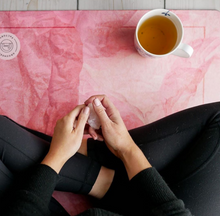 Load image into Gallery viewer, Eco Friendly Yoga Mat: Stone Pink 3,5 mm thick