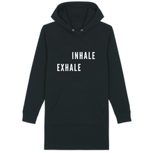 Load image into Gallery viewer, Inhale Exhale Hoodie dress