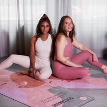 Load image into Gallery viewer, Fuck Cancer Yoga Mat by Alice Garpenschöld in collaboration with Ung Cancer