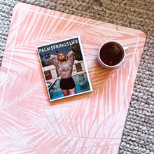 Load image into Gallery viewer, Eco friendly Yoga Mat: Palm Springs Apricot 3,5 mm