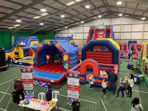 Indoor Inflatable Theme Park Spectacular Sunday 3rd Nov @ Shobnall Leisure Complex, Shobnall Road, Burton-upon-Trent, DE14 2BB