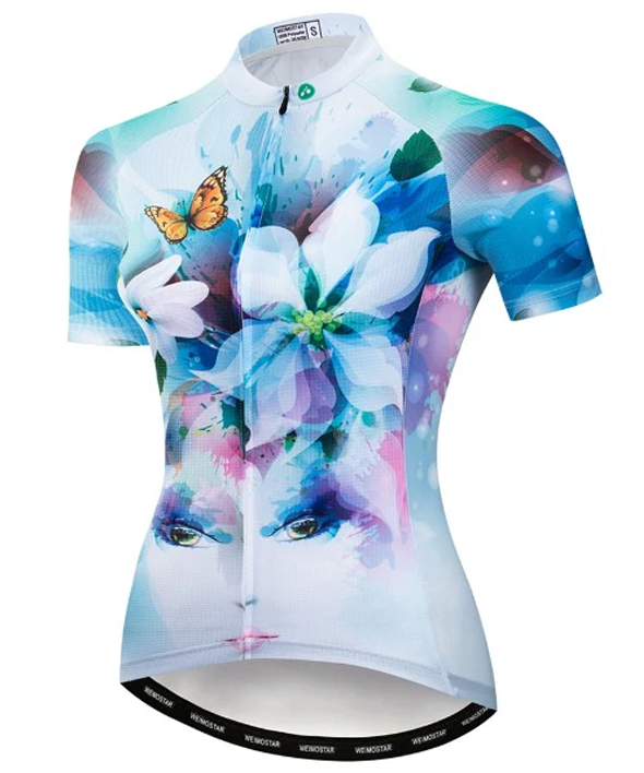 FLOWERS X4 - Cycling Jersey