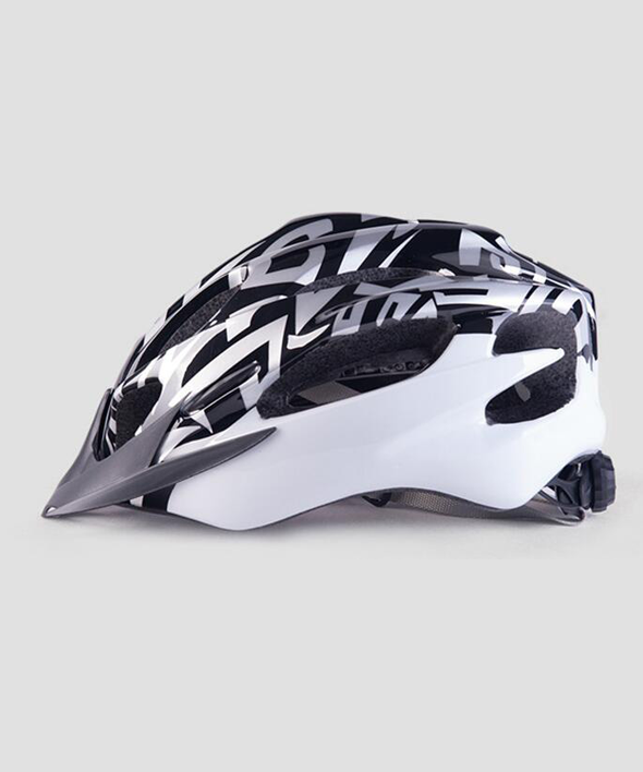 BLACK - Cycling Helmet