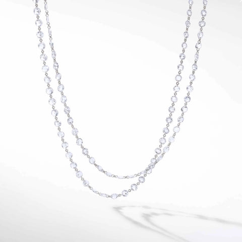 64Facets Diamond Chain Necklace