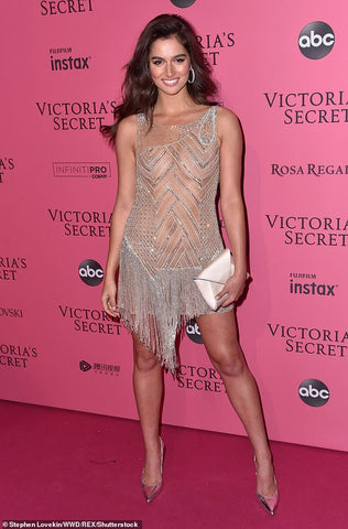 Maia Cotton at the Victoria Secret Fashion Show After Party