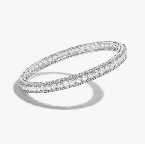 Linear Diamond Bracelet by 64Facets