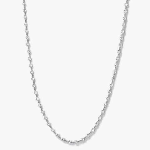 Diamond chain necklace by 64Facets