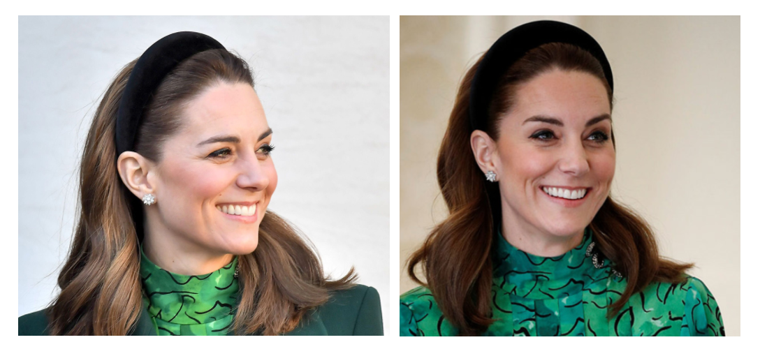 Kate Middleton Floral Jewelry