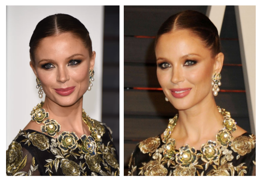 Georgina Chapman Flower Necklace