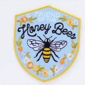 Antiquaria Iron-on Patch - Honeybee