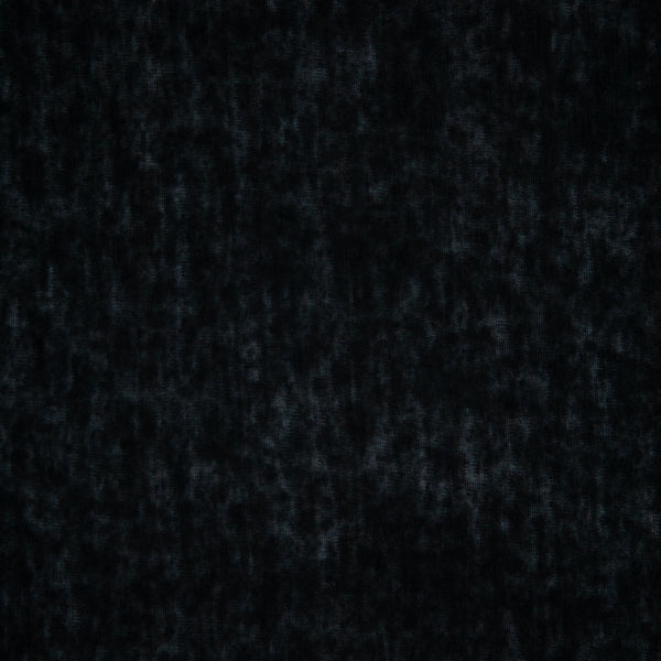 Lightweight Linen Rayon Knit - Black - 1/4m
