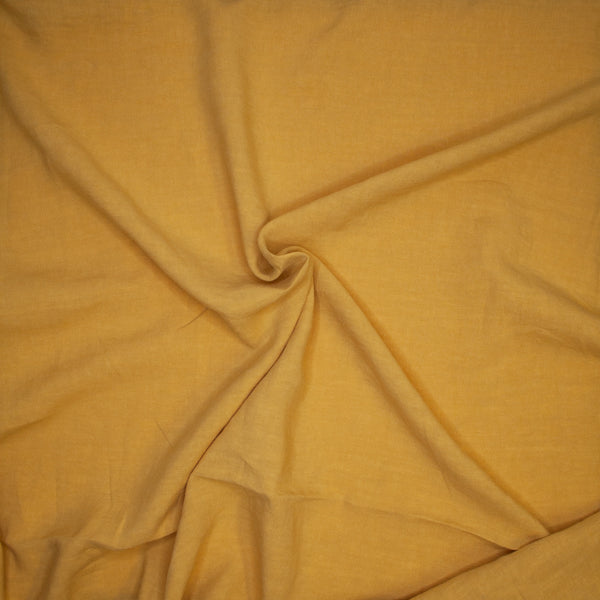 Cotton Interlock - Mustard - 1/4m