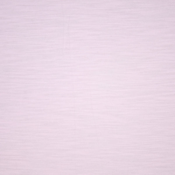 Organic Cotton Bamboo Slub Jersey - Light Pink- 1/4m
