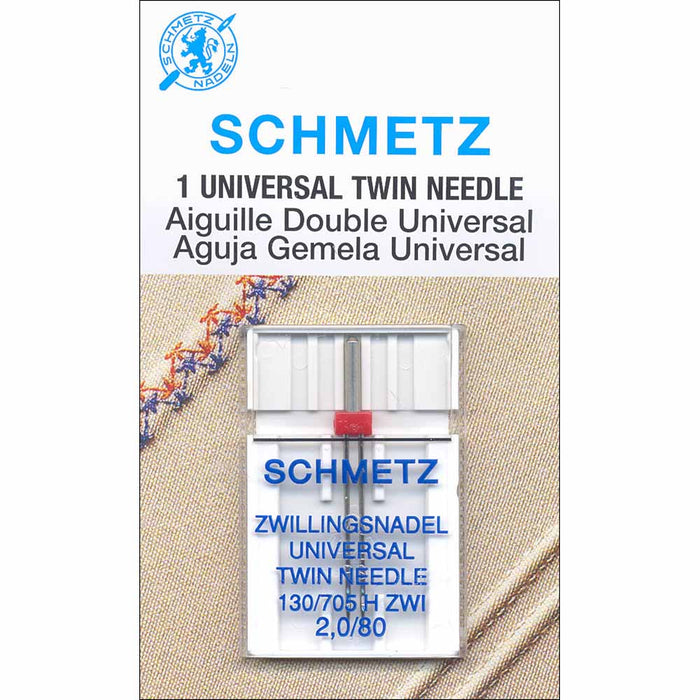 Schmetz - Universal Twin Needle - 1pc
