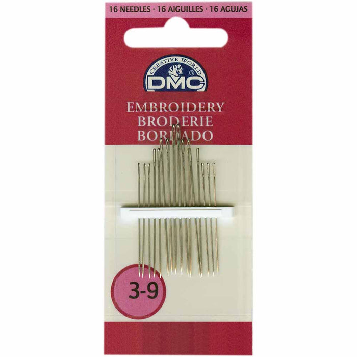 DMC Embroidery Needles # 3-9