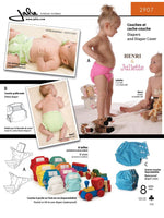 Jalie - 2907 Cloth Diapers and Diaper Cover
