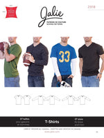 Jalie - 2918 Boys' and Men's T-Shirts