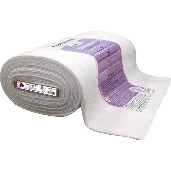 Heat'n'Bond - Fusible Hi-Loft Fleece Interfacing - White - 1/4m