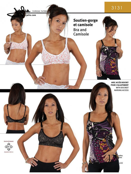Jalie - 3131 - Bra and Camisole (Nursing Option)