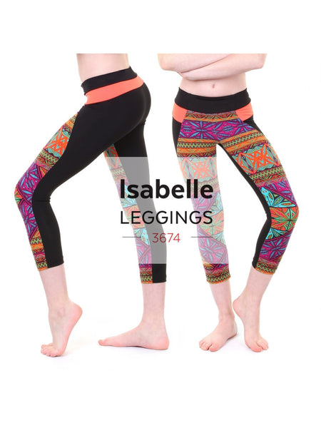 Jalie - 3674 - Isabelle Leggings and Skating Pants