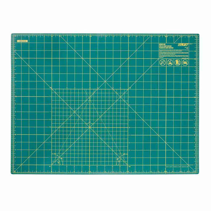 OLFA - Double Sided Rotary Mat - Various Sizes & Colours