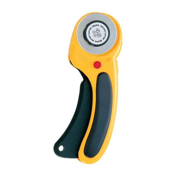 OLFA - Deluxe Ergonomic Handle Rotary Cutter - 45mm