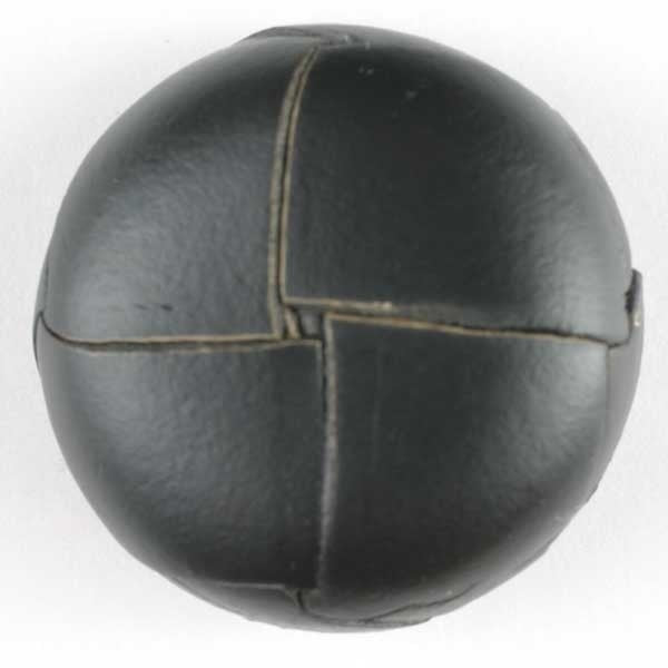 Leather Button - 25mm