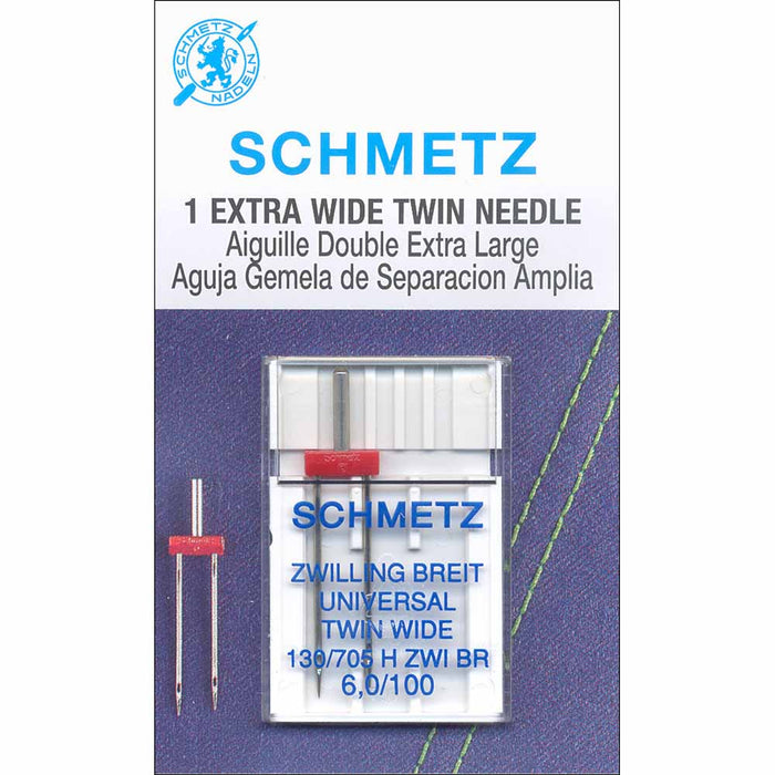 Schmetz - Extra Wide Twin Needle - 1pc