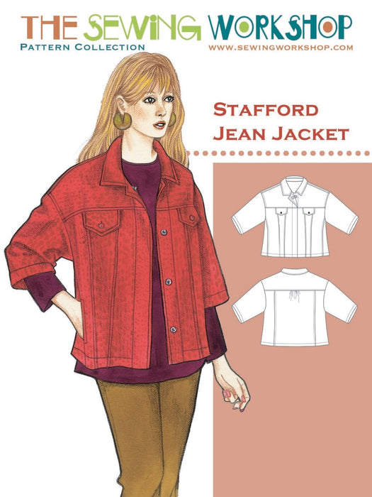 The Sewing Workshop - Stafford Jean Jacket