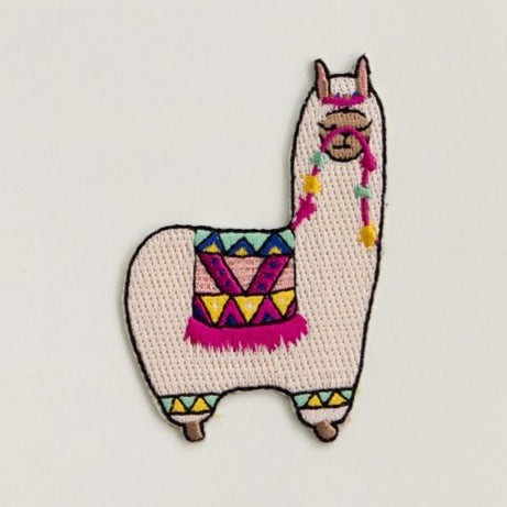 Antiquaria Iron-on Patch - Alpaca