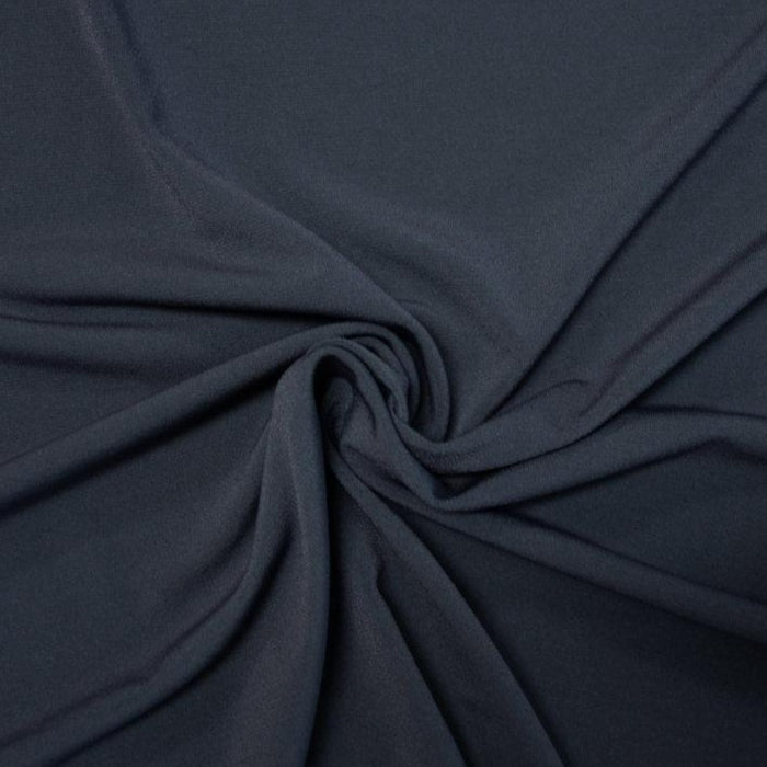 Polyester/Spandex ITY - Steel - 1/4m