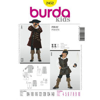 Burda - Kids - Pirate costume