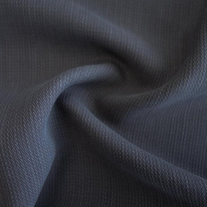 TENCEL™ Dobby Stripe - Graphite - 1/4m