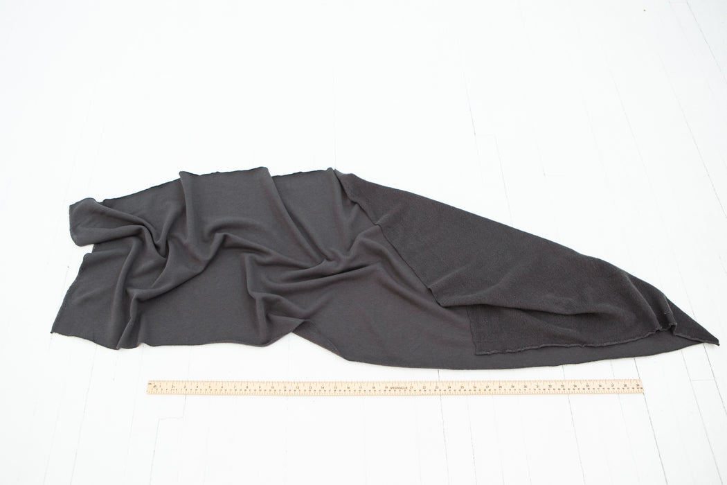 Cloud Fleece - Charcoal - 1/4m