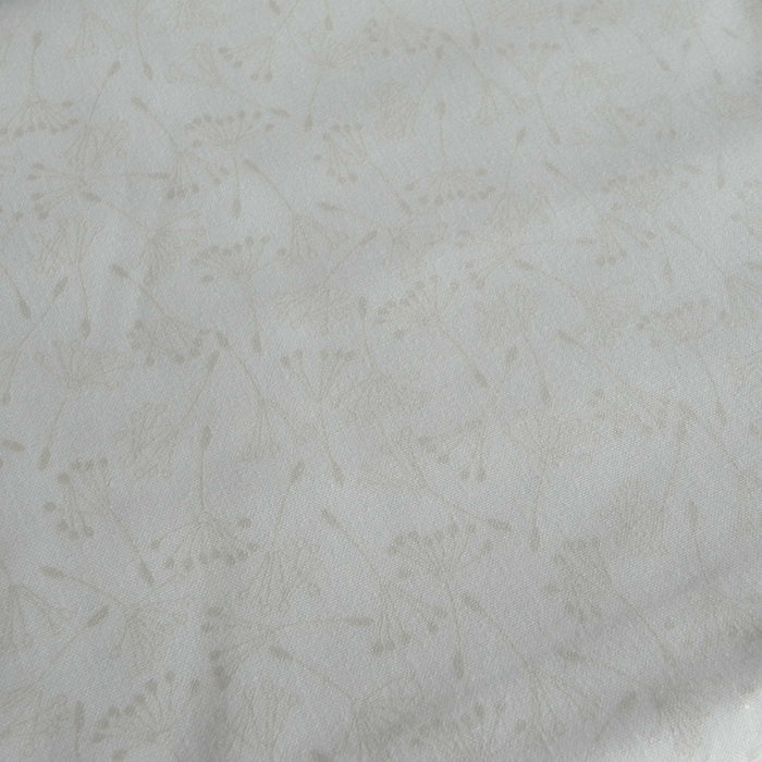 Quilting Cotton Print - Silver Dandelion Seeds - 1/4m