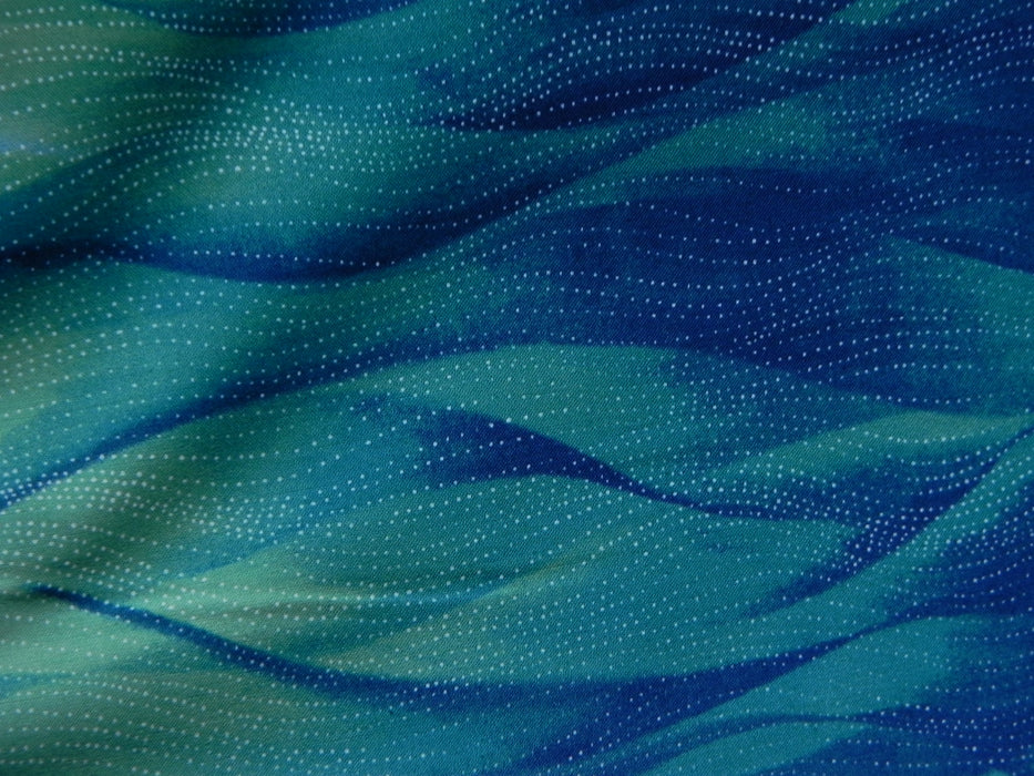 Quilting Cotton - Rejuvenation - Teal - 1/4m