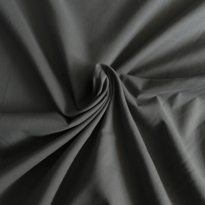 Cotton Voile Solid - Grey - 1/4m