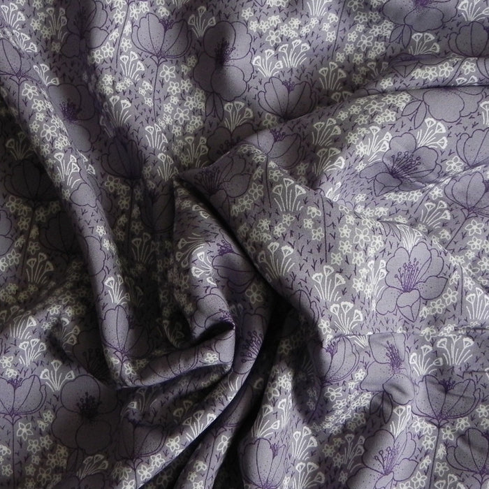Cotton + Steel - Emilia by Megan Carter - Rayon - Dusty Lilac - 1/4m