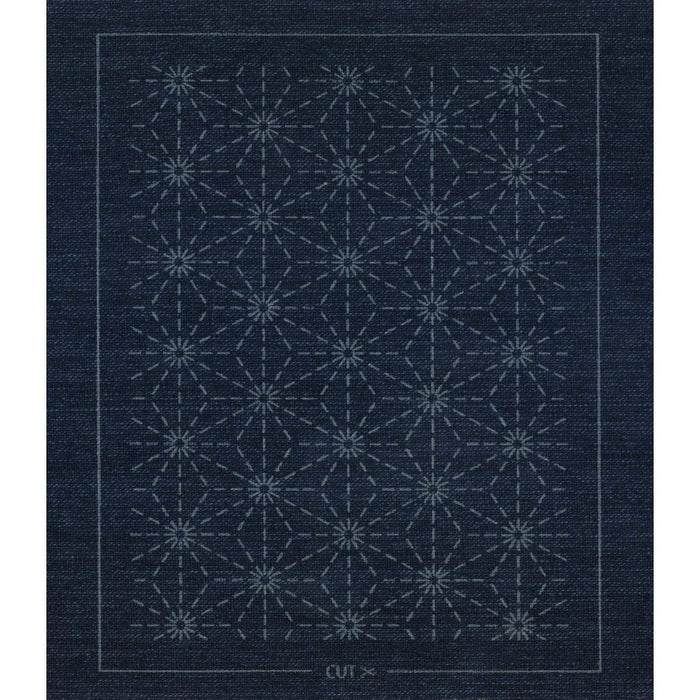 Sashiko Patch Mending Kit - Indigo
